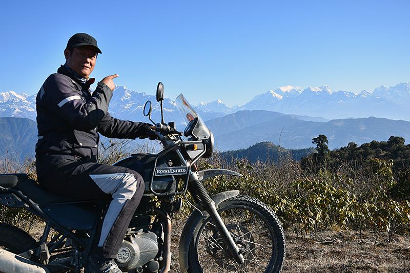 Sherap Sherpa at Patale, Solu Khumbu.